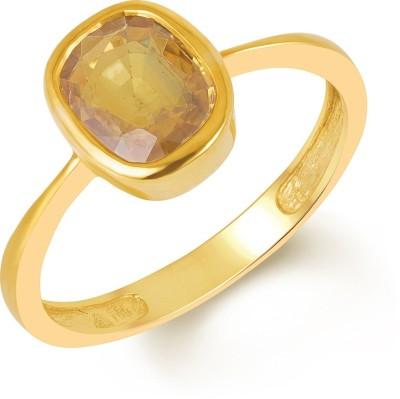Jaipur Gemstone Bronze Sapphire Ring at flipkart