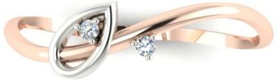 Astrum Diamonds The Spring Leaf 14kt Diamond Yellow Gold ring