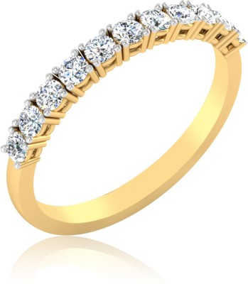 IskiUski Medieval 14kt Swarovski Crystal Yellow Gold ring IskiUski Rings