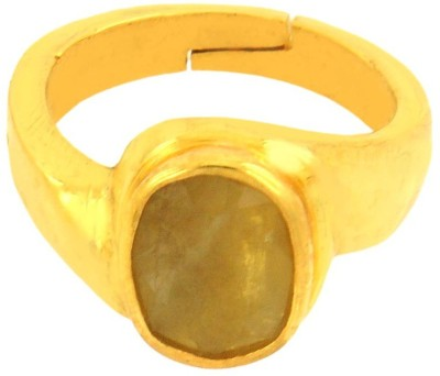 Avaatar 7 Carat Panchdhatu Bello Metal Sapphire Ring