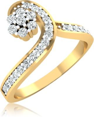 6c9952273ae9e 28% OFF on Sparkles Beautiful B Shape Diamond Yellow Gold Pendant on ...