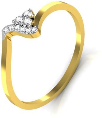 Avsar Priya 18kt Diamond Yellow Gold ring at flipkart