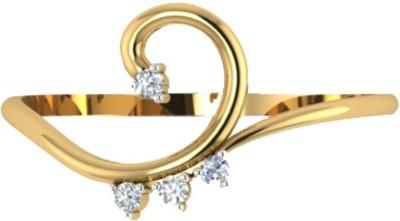 Shrut Jewellery 14kt Diamond Yellow Gold ring
