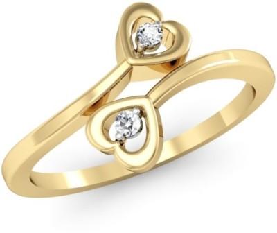 Kataria Jewellers The Ariadne BIS Hallmarked Gold 14kt Diamond Yellow Gold ring