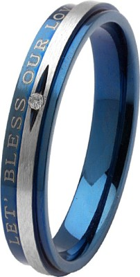 Voylla Alloy Cubic Zirconia Silver Plated Ring at flipkart