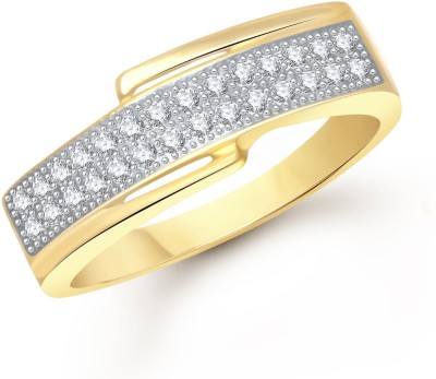 Meenaz Cute Forever Alloy Cubic Zirconia Ring at flipkart
