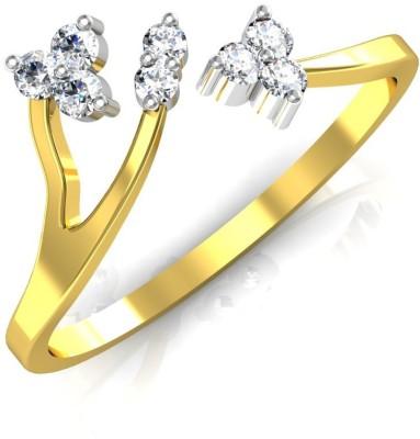 Avsar Sweta 18kt Diamond Yellow Gold ring