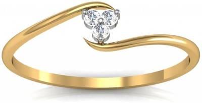 Avsar Kirti 14kt Swarovski Crystal Yellow Gold ring
