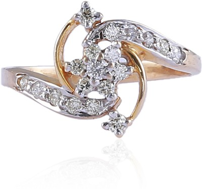 Jisha The Promise 14kt Diamond Yellow Gold ring