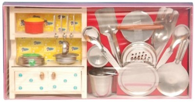 9 off on homeshopeez toy kitchen set small on flipkart rh paisawapas com  small toy kitchen set wooden
