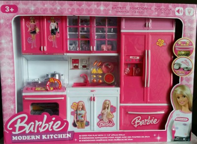 37 Off On Amayra Toy Battery Opertaed Barbie Kitchen Set From