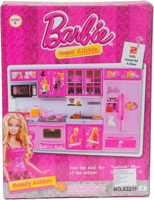 Buy Barbie Mini Kitchen Set On Flipkart Paisawapas Com