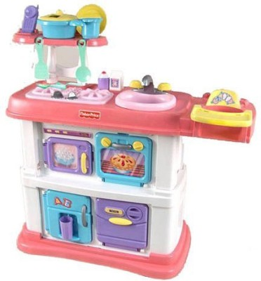 Fisher-Price Grow with Me Cook and Care Pink Kitchen at flipkart