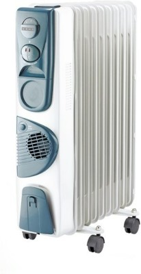 Usha 3211F PTC 2300W Oil Radiator Room Heater