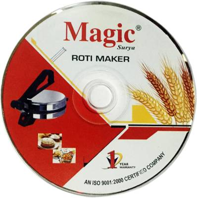 Magic CHAPATI ,ATTA MAKER , WITH DEMO CD Roti and Khakra Maker
