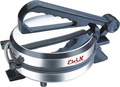 Elvin Electric Phulka Papad Maker Machine Chapati Roti/Khakhra Maker(Black)  available at flipkart for Rs.1025