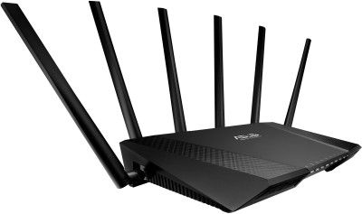 Asus RT-AC3200 Router(Black) at flipkart