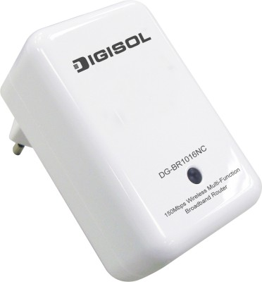 Digisol DG BR1016NC 150 mbps Router Black, Single Band Digisol Routers