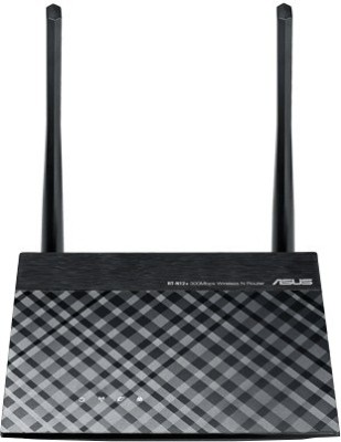 Asus Asus RT-N12+ 300 Mbps 3-in-1 Router / AP / Range Extender Router(Black)