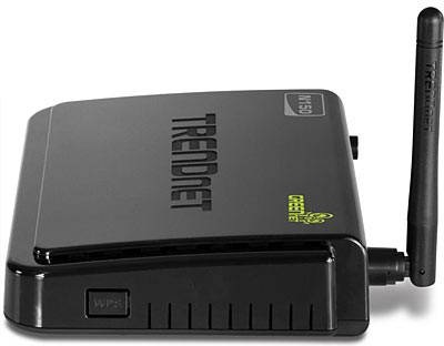 TRENDnet N150 Wireless Router (TEW-712BR) (Black)