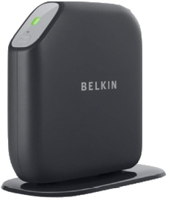 Belkin Basic Surf  N300  Router Black, Single Band Belkin Routers