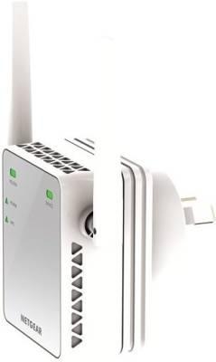 Netgear N300 WiFi Range Extender - Essentials Edition