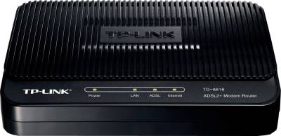 TP-LINK TD-8816 ADSL2+ 150 Mbps Wired with Modem Router (Black)