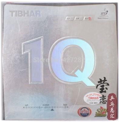 Tibhar 1Q 11.3 mm Table Tennis Rubber(Black)