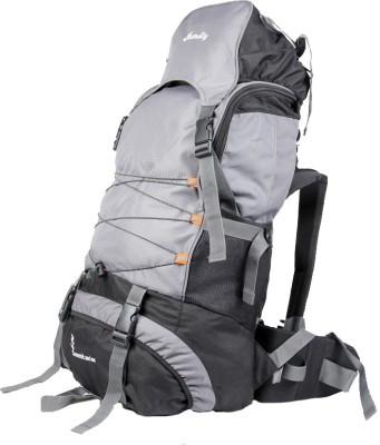 Bendly Hiking Rucksack  - 60 L(Grey) at flipkart