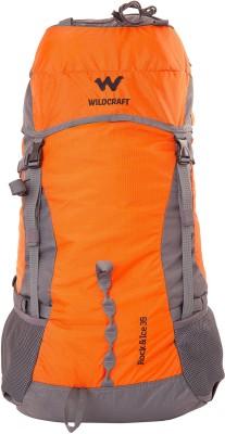 Wildcraft Rock & Ice 2 Rucksack  - 35 L(Orange)  available at flipkart for Rs.3399