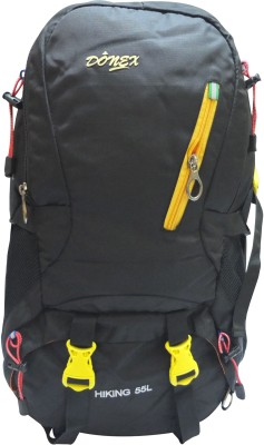 Donex B862Y Rucksack  - 55 L(Black) at flipkart