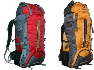 44f01fbca1 ... Campaign Hiking Trekking Bag Backpack 75 ltrs ( Red   Yellow ) PACK of  2 with RAIN COVER Rucksack - 75 L(Multicolor) on Flipkart