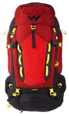 Wildcraft Rodhas 65 Rucksack  - 65 L(Red) at flipkart