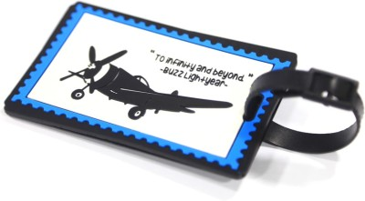 Random in Tandem Airplane Explorer Luggage Tag(Multicolor)