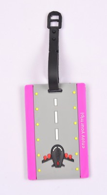 Shrisay Ventures Runway Pack Of 2 Luggage Tag(Multicolor)