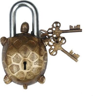 Gathbandhan Tortise Safety Lock(Gold)