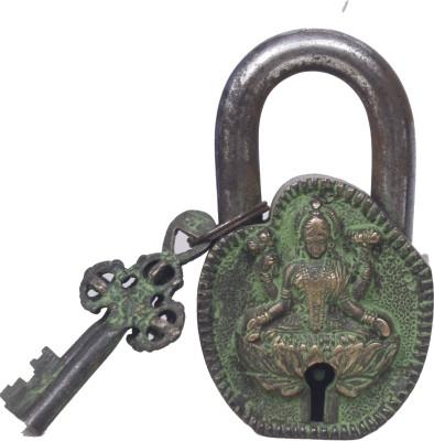 Gathbandhan Godess Laxmi Safety Lock(Gold, Green)