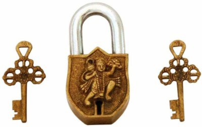 Gathbandhan HANUMAN Safety Lock(Gold)