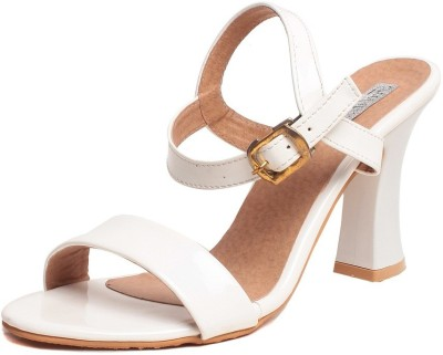 Feel It Women White Heels