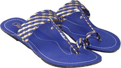 Jade Women Blue Flats