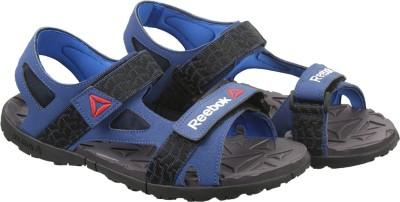 REEBOK Men CLUB BLUE/BLUE/BLK/GRY Sports Sandals