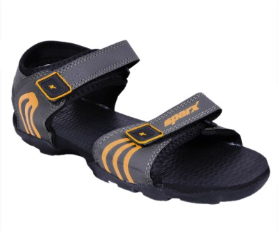 Sparx Men Olive Yellow Sports Sandals  available at flipkart for Rs.449