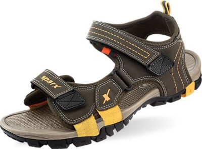 144e43a08 13% OFF on Sparx Men Olive Sandals on Flipkart