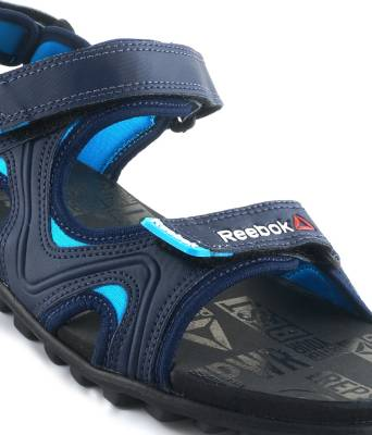 Reebok Men NAVY/BLUE/GRAVEL/BLK Sports Sandals