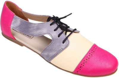 Indulgence Women Pink Bellies at flipkart