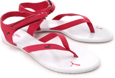 31926e2d6753 Puma 30480201 Women Pink And White Glady Sandals - Best Price in ...