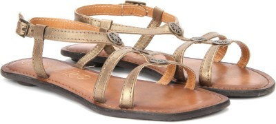 Catwalk Women BRONZE Flats