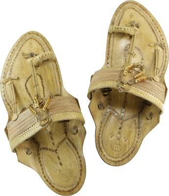 eKolhapuri Men Natural Sandals at flipkart