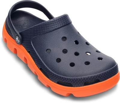 Crocs Men Blue Clogs at flipkart
