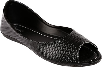 Jade Girls Mule(Slip ons)(Black)